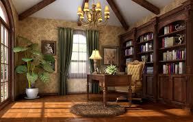 american study room interior design 3d download 3d house