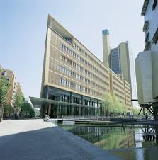 references located very close to the potsdamer platz in berlin the debis haus is located in a district known as daimler city designed by italian architect renzo