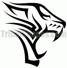 tribal tiger designs tweet author tribalshapes com url http