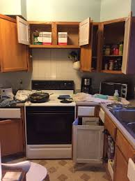 kitchen cabinets that look like furniture you won u0027t believe that this kitchen renovation only costs 100