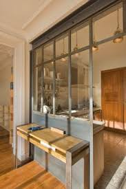 glass paned partition partitions pinterest kitchen living