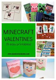 minecraft valentines minecraft valentines 9 easy printables moneywise