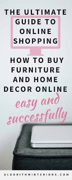 home decor online shops algorithm interiors