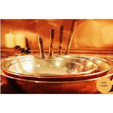 ustensile de cuisine en cuivre poêle ronde en cuivre martelé ustensiles de cuisine en cuivre
