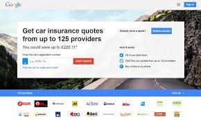 google compare in the uk google compare in the uk has facilitated car insurance quotes
