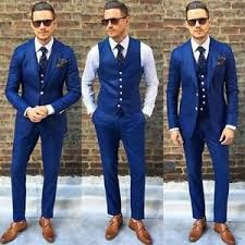 men wedding custom made blue men wedding suits groom best tuxedos formal