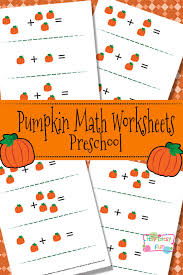pumpkin math worksheets for preschool itsy bitsy fun