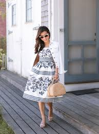 summer dresses blue and white prints in nantucket ma petite