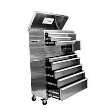 Trinity Stainless Steel Cooler With Shelf by Trinity Tool Storage Tools The Home Depot
