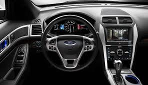 Ford Explorer Black - adrenalin charcoal black interior 2010 ford explorer sport trac