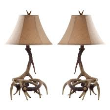 Antler Table Lamp Faux Antler Table Lamp And Sundance 2 Piece Set With 2201928 Wid