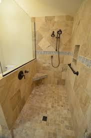 Open Showers No Doors Shower Bathroom Ideas Medium Size Open Showers For Small