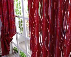 sheer curtains luxury stripe tulle volie organza curtains