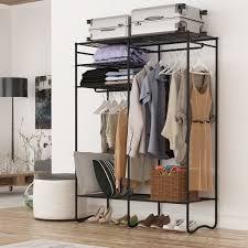 shallow closet solutions shop amazon com garment racks