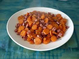 cuisiner les carottes recette de carottes sautées au jambon