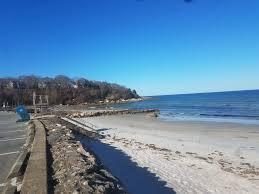 walk to old silver beach and shining sea bike path great
