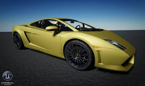 Lamborghini Gallardo Models - getting my hands on unreal engine 4 unreal x editor