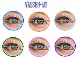 vassen ms colors contact lenses korean cosmetics wholesale cheap