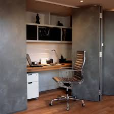 Hidden Home Office Desk by Workplace At Home Home Office Transitional With Windows Desk