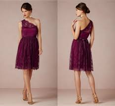 one shoulder lace bridesmaid dresses purple lace bridesmaid dress with one shoulderwedwebtalks