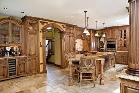Tuscan Style Kitchen Cabinets Tuscan Kitchen Design Kitchen Design Ideas Blog