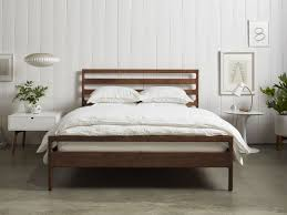 All Wood Bed Frame Handmade Wood Bed Frame Parachute