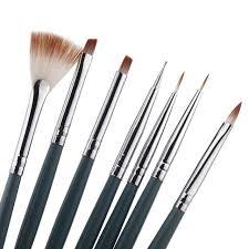 aliexpress com buy 7pcs set diy professional nail art brush