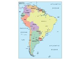 Map Central And South America by South America Presentation Map Our Cartographers Have Made South