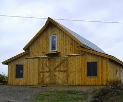 Gambrel Roof Barns Kits