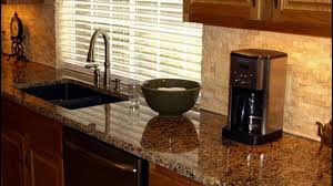 Backsplash For Kitchen With Granite Backsplash And Granite Combinations Youtube