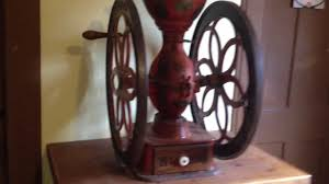 Old Fashioned Coffee Grinder Enterprise Antique Coffee Grinder No 9 Youtube