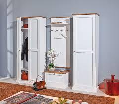 guardaroba ingresso moderno guardaroba mobile d ingresso moderno in legno pino massello bianco