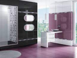 grey and purple bathroom ideas purple bathroom ideas grey glass tiles mosaic wall design brown