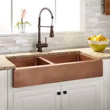 angled kitchen sink signature hardware chrison bellina