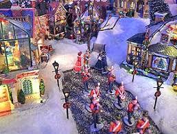 Model Lighting Miniature Street Ls And Lights Christmas Village