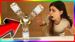 Romanatwoodvlogs Water Challenge Youtuber Edition Water Bottle Flip Challenge Nigahiga