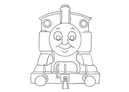 thomas train coloring pages travel