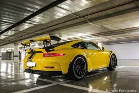 porsche gt3 rs x2 porsche 991 gt3 rs yellow and orange youtube