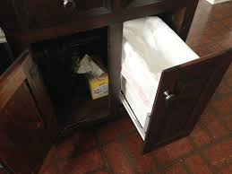 Installing A Pull Out Trash Can Young House Love - Kitchen cabinet garbage drawer