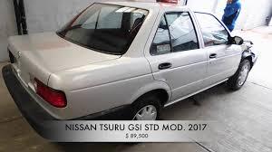 nissan tsuru 2016 accidentado nissan tsuru 2017 autocomercia youtube