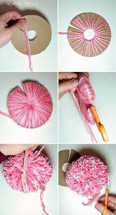 How To Make A Cardboard Chandelier Best 25 Making Pom Poms Ideas On Pinterest Pom Pom Diy Pom