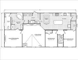 Micro Floor Plans by Model Ph28603a Manufactured Home Floor Plan Or Modular Floor Plans