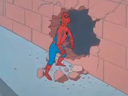 Meme Generator Spiderman - spiderman and the wall blank template imgflip