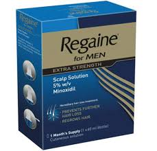 regaine for men solution hair loss treatment product