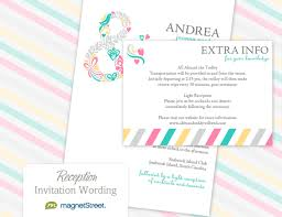 reception invitation wordingtruly engaging wedding blog