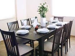 Creative Decoration Dining Table Seats  Exciting Dining Table - Dining table size to fit 8