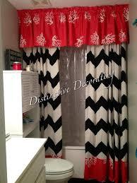 Bathroom Window Valance Ideas Colors Best 25 Shower Curtain With Valance Ideas On Pinterest Monogram