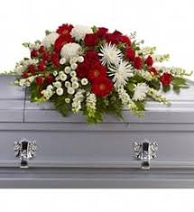 Flowers Paducah Ky - shades of white flowers for the casket include orchids kale