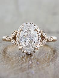 vintage oval engagement rings rachael diamond oval diamond gold engagement ring ken