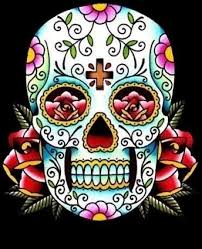 37 best classic sugar skull tattoo designs images on pinterest